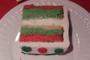 Inside the Christmas Gift Cake